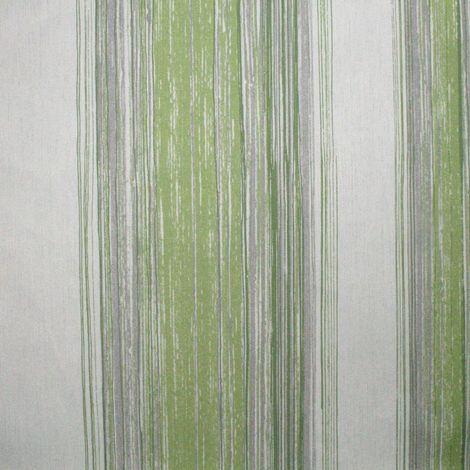 Wall Twine Pear Green Stripe Wallpaper
