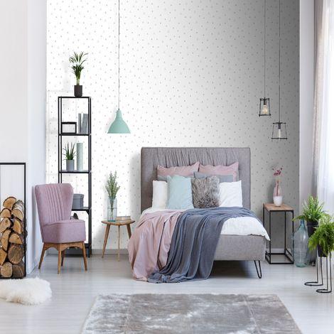 Superfresco Easy Pink/Grey Tarraza Geometric Wallpaper