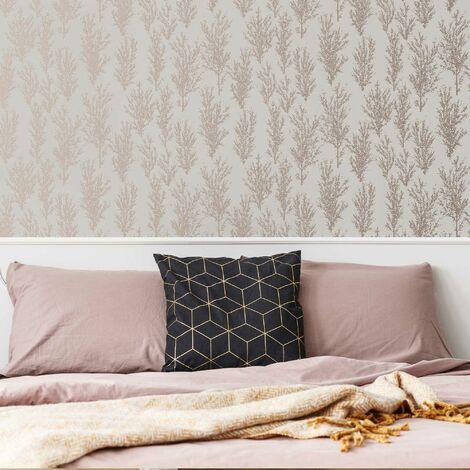 Superfresco Easy Pink Katsura Textured Tree Wallpaper (Was £17)