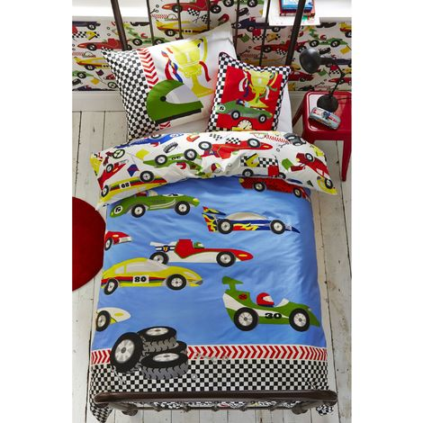 Superfresco Easy Pit Stop Pillowcase