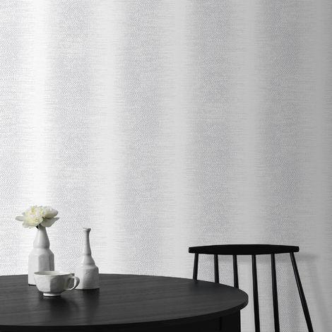 Superfresco Easy Silver Ombre Glow Silver Stripe Wallpaper (Was £17)