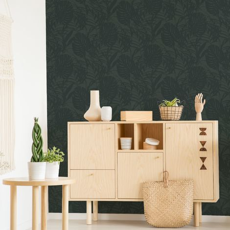 Superfresco Easy Tropical Palm Green Wallpaper