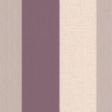 Superfresco Java Stripe Plum Modern Wallpaper Roll
