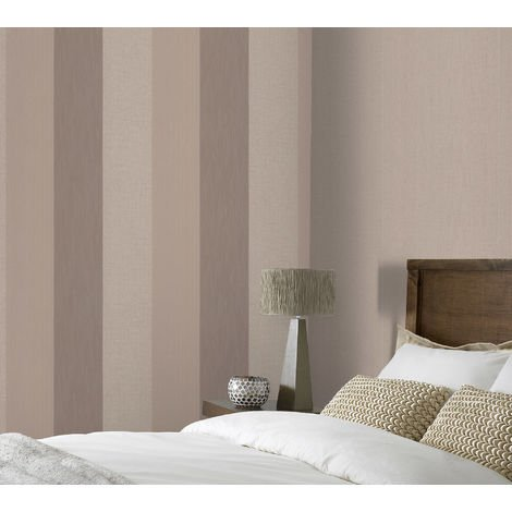 Superfresco Java Stripe Textured Beige/Cream Wallpaper (Was £15)