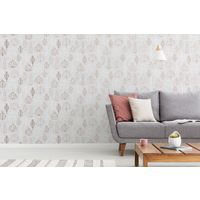 Superfresco Nordic Leaf Rose Gold Floral Wallpaper