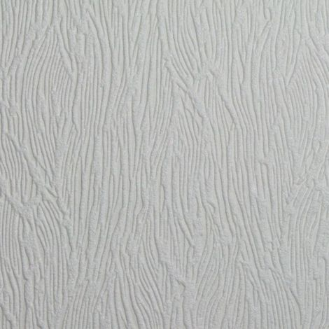 Superfresco Paintable Bark White Durable Heavy Duty Wallpaper