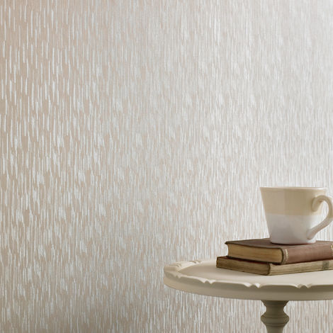 "main image of ""Graham & Brown Wallpaper Silken Stria Cream Shimmer 32-908"""