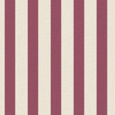 Superfresco Ticking Textured Stripe Red/Brown Wallpaper (Was £14)