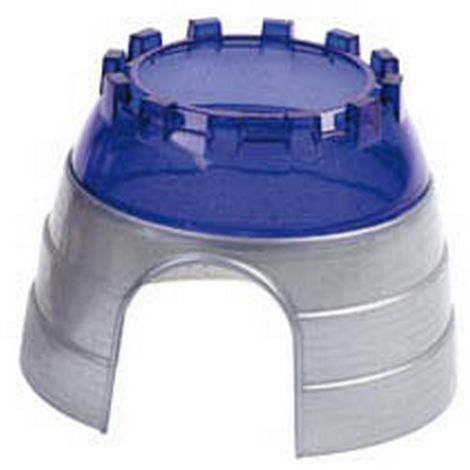 Superpet Critter Pet Cage Cyber Dome (One Size) (Silver/Blue)