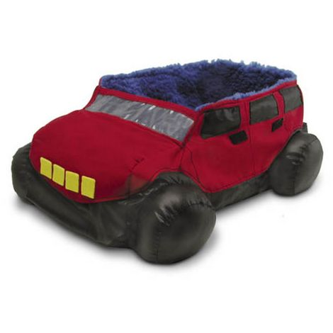 Superpet Sleeper Truck Design Pet Bed (One Size) (Red)
