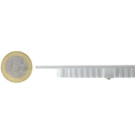 SuperSlim LED Quadrata 6W Bianco Freddo 6000K - 6500K - 220_456