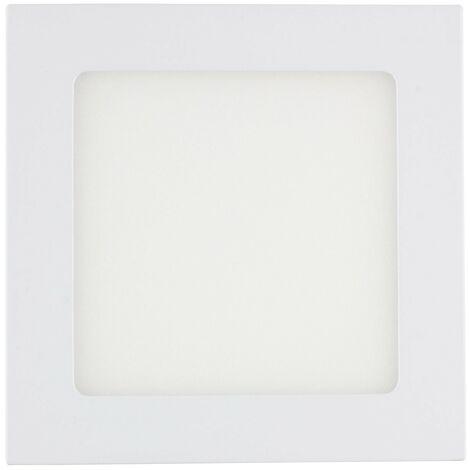 SuperSlim LED Quadrata 9W Bianco Freddo 6000K - 6500K - 413_786