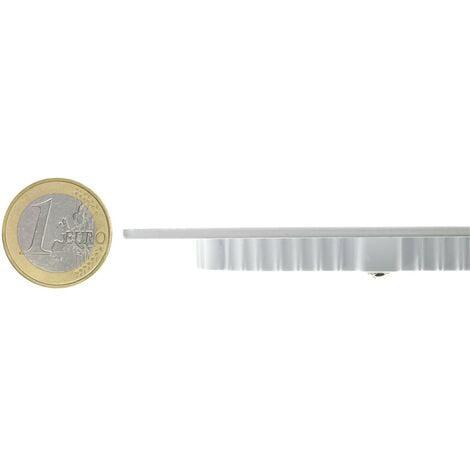 SuperSlim LED Rotonda 12W Bianco Freddo 6000K - 6500K - 219_443