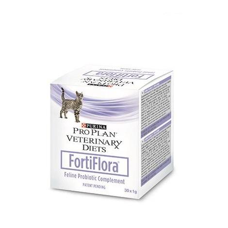 Suplemento FORTIFLORA PRO PLAN VETERINARY DIETS 30g para gatos