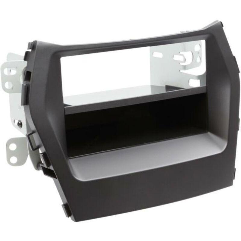 Support 2Din compatible avec Hyundai Santa Fe ap12 Avec vide poche - Noir