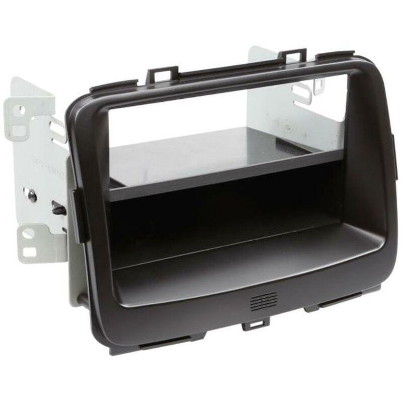 Support 2Din compatible avec Kia Carens IV ap13 avec vide-poche - Noir