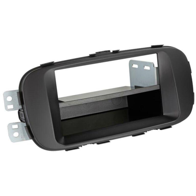 Support 2Din compatible avec Kia Soul ap14 avec vide-poche - Noir
