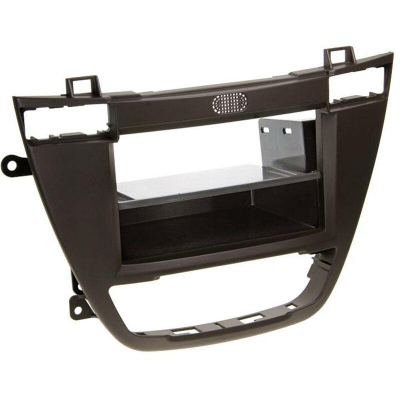 Support 2Din compatible avec Opel Insignia 08-13 avec vide-poche - Marron