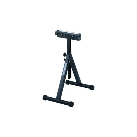 Support a roulettes avec charge role, boule barre, hauteur réglable, 350 mm - 758 - 1197mm