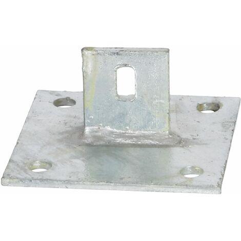 Support - Ancre sur platine à fixer pour jambe de force Te30