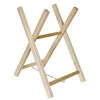 Support chevalet en bois pour scier tronconner buche de bois de chauffage
