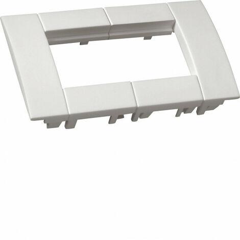 Support d'appareillage 45x45 double noir pour goulottes alu (GT4529011)