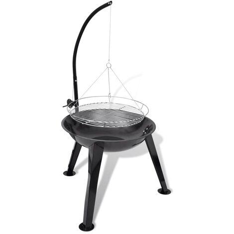 Support de barbecue au charbon de bois Rond