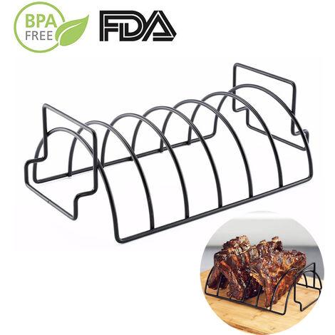 support de Barbecue en acier inoxydable pour Barbecue, support pour Steak, antiadhésif, accessoires de cuisine