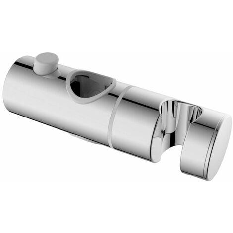 Support de douche coulissant Ø 24 mm Damast SC342   Chromé