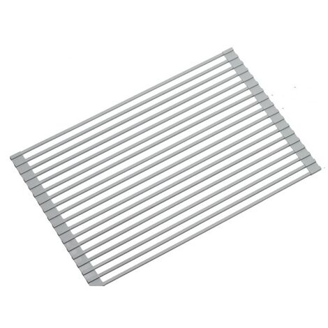 Support de filtre à eau pour volet roulant à tube carré, support de vidange en silicone pour évier, panier de vidange, évier pliable pour vaisselle, baguettes et supports à vaisselle