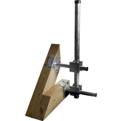 Support de mât A.S. SAT 51020 Adapté pour diam. de mât (max.): 60 mm