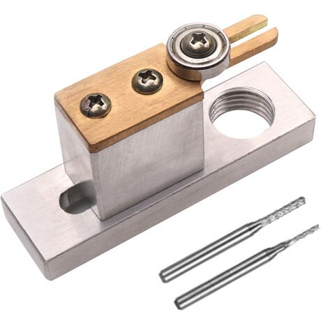 Support de montage de filelectrique de violon, accessoires de violon, outils de fabrication de violon, crochets, avec 2 forets