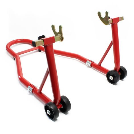 Support de moto pour Roue arrière Pied de montage Support de roue Aide au Montage Arrière