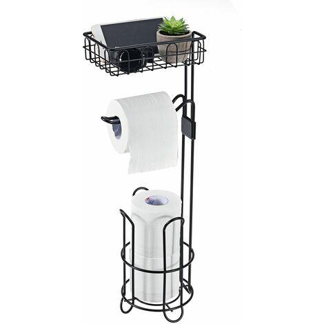 Support de papier hygiénique vertical 61cm Support de rangement pour serviettes en papier