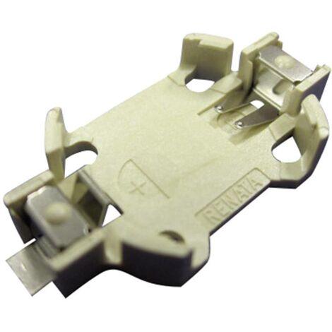 Support de pile bouton CR2032 Renata SMTU2032-C V702601