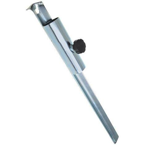 Support de piquet pour séchoir parapluie & parasol 50cm Ø35mm
