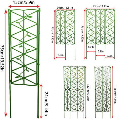Support de plante pliable multifonctionnel pour cadre d'escalade