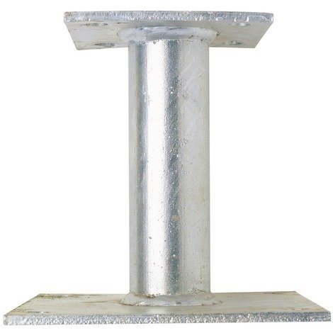 Support de poteau inégal Alberts - Hauteur 100 mm