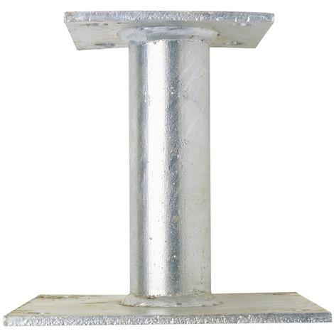 Support de poteau inégal Alberts - Hauteur 150 mm