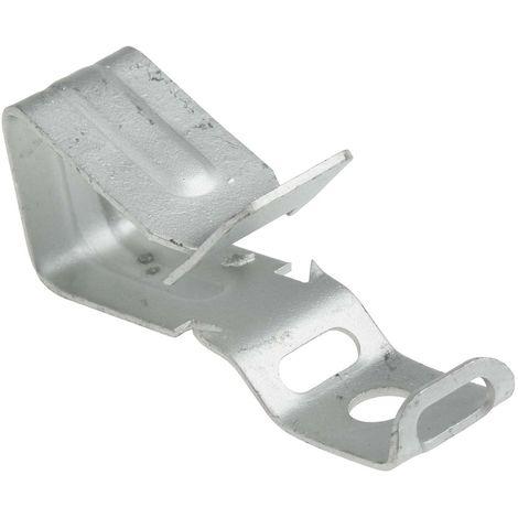 Support de raccordement câble de poutre, Acier, Epaisseur de la bride 3 → 10 mm