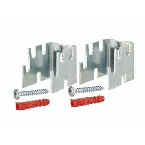 Support de radiateur acier écartement du mur 12-22-34-42 mm NOYON & THIEBAULT - 803600