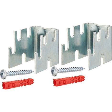 Support de radiateur acier écartement du mur 12-22-34-42 mm NOYON & THIEBAULT