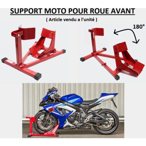 Support de roue avant pour moto