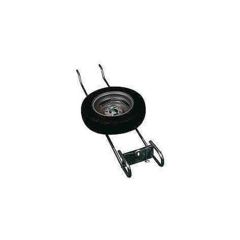 Support de roue de secours ALKO grand modèle pour caravane et camping-car