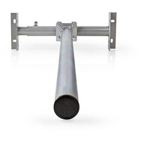 Support de Satellite pour Toit Taille Maximale de l'Antenne Parabolique : 80 cm Hauteur Maximale : 1,0 m Acier