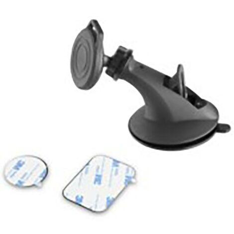 Support de téléphone de voiture à succion magnétique Noir Support de téléphone de voiture magnétique Noir Muvit Muchl0056