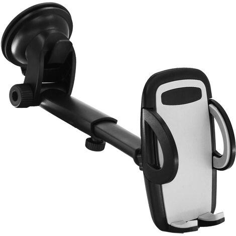 Support de téléphone de voiture version améliorée, support de téléphone portable universel de voiture, évents, ventouse puissante, pare-brise de tableau de bord, support de téléphone de voiture
