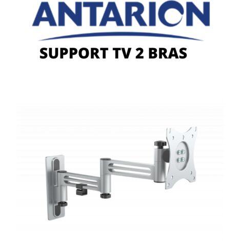 Support de télévision LCD 2 bras articulé en alu