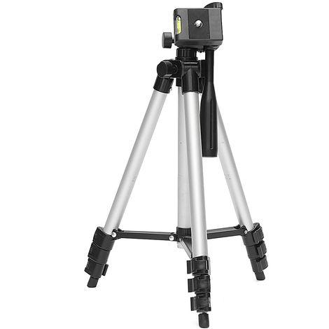Support de trépied extensible pour laser appareil photo de téléphone Selfie