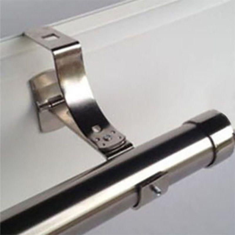 Tringle A Rideau Sans Percer.1 Support De Tringle A Rideaux O16 A 20mm Sans Percage Noir